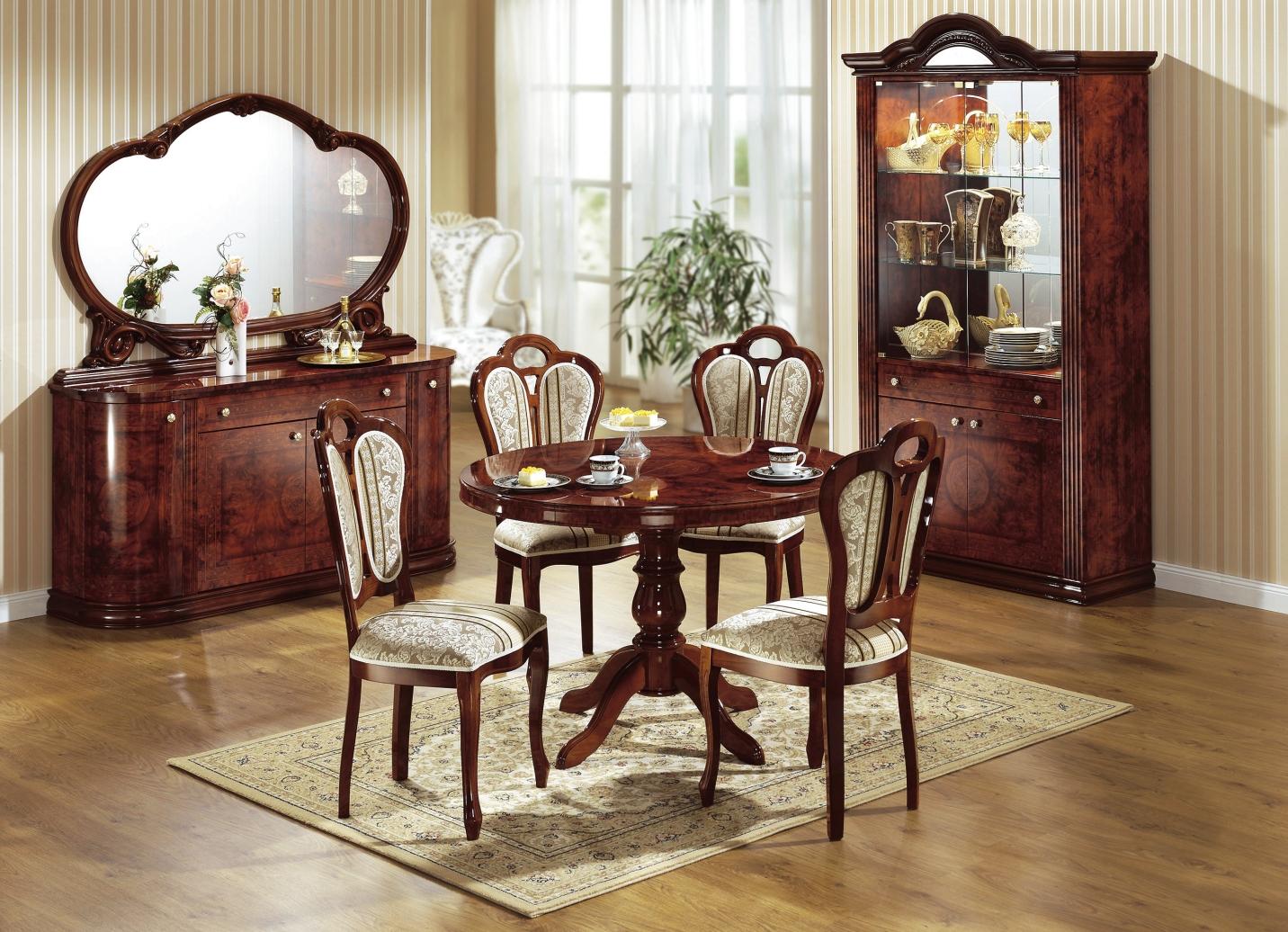 esszimmer m bel in verschiedenen ausf hrungen stilm bel bader. Black Bedroom Furniture Sets. Home Design Ideas