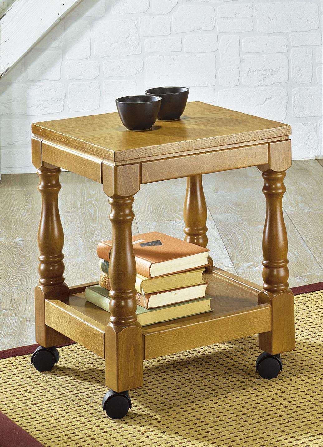 beistellwagen eiche rustikal m bel bader. Black Bedroom Furniture Sets. Home Design Ideas