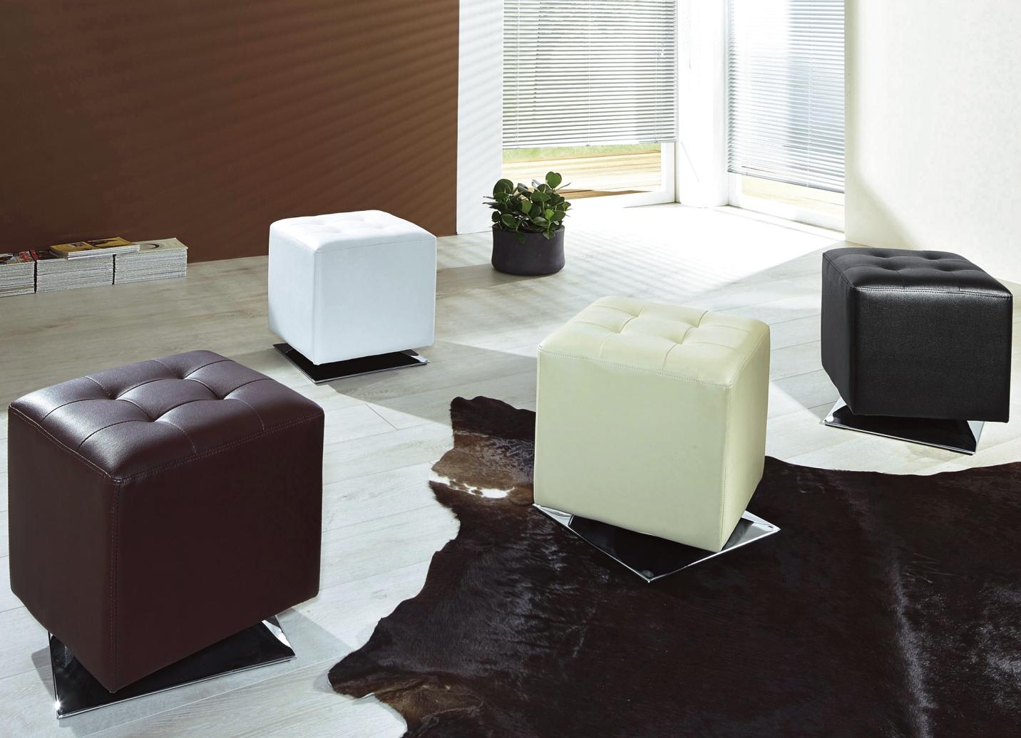 hocker in verschiedenen farben moderne m bel bader. Black Bedroom Furniture Sets. Home Design Ideas