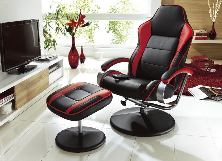 Relax Sessel Mit Hocker In Verschiedenen Ausfuhrungen Moderne