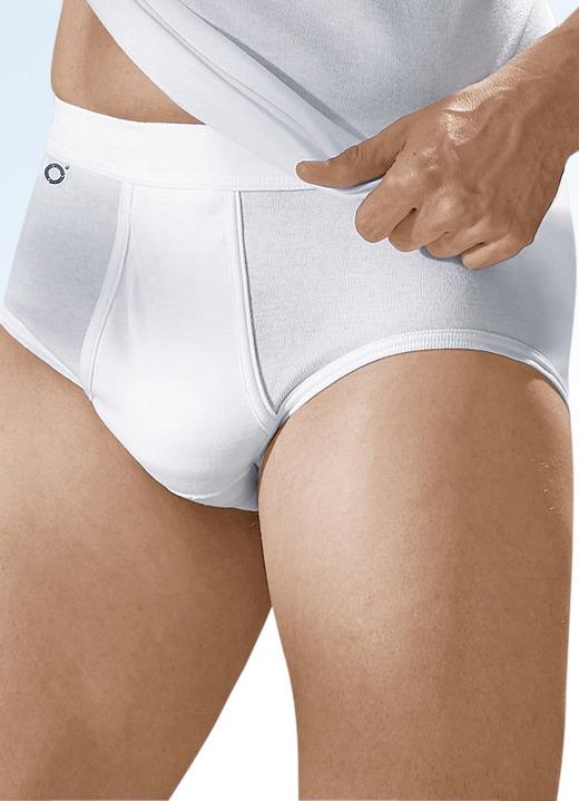 4eda79c274 Slips & Unterhosen - Pfeilring Viererpack Slips aus Feinripp, weiß, in  Größe 005 bis