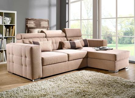 polsterecke mit dekokissen in verschiedenen ausf hrungen. Black Bedroom Furniture Sets. Home Design Ideas