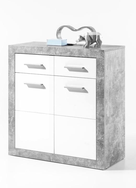 kommode 2 t rig mit korpus in beton optik kommoden bader. Black Bedroom Furniture Sets. Home Design Ideas