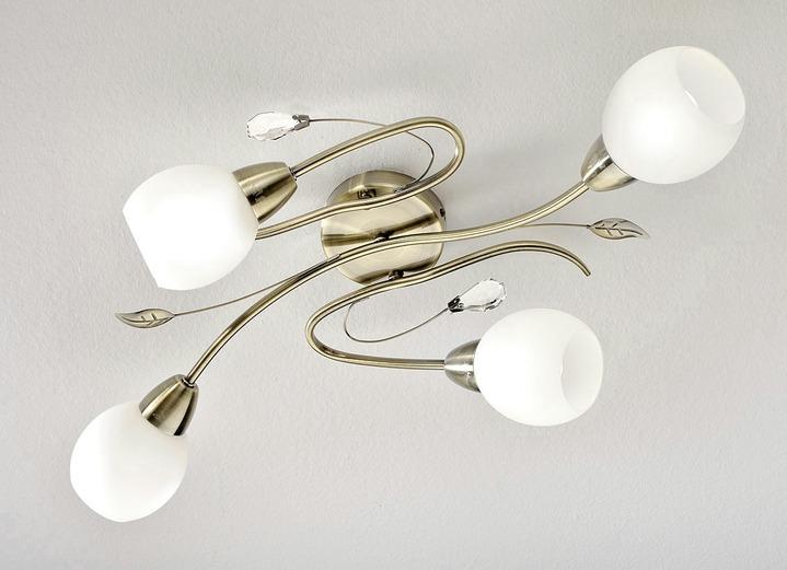 led deckenleuchte in verschiedenen farben lampen leuchten bader. Black Bedroom Furniture Sets. Home Design Ideas