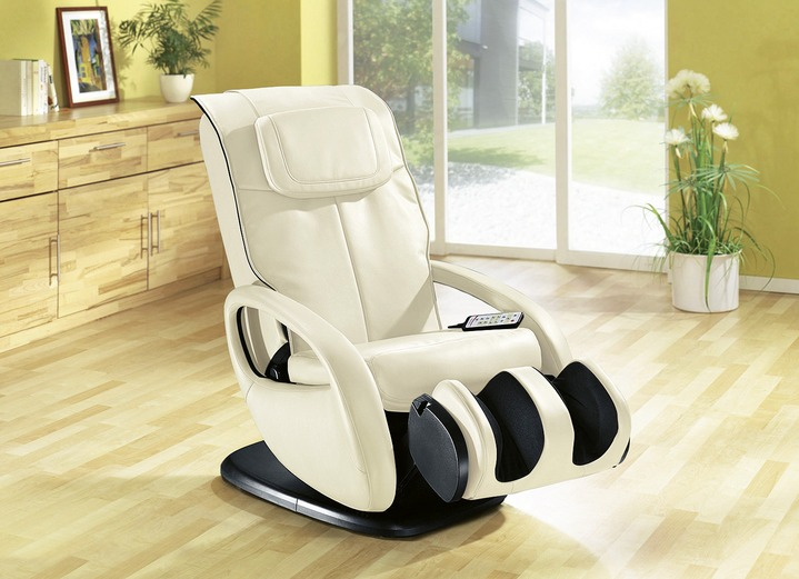 TV-Sessel / Relax-Sessel - Multifunktions-Massagesessel, in Farbe CREME