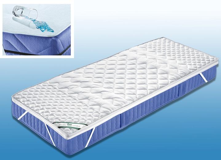 f a n 7 zonen visco topper wasserdicht matratzen topper bader. Black Bedroom Furniture Sets. Home Design Ideas