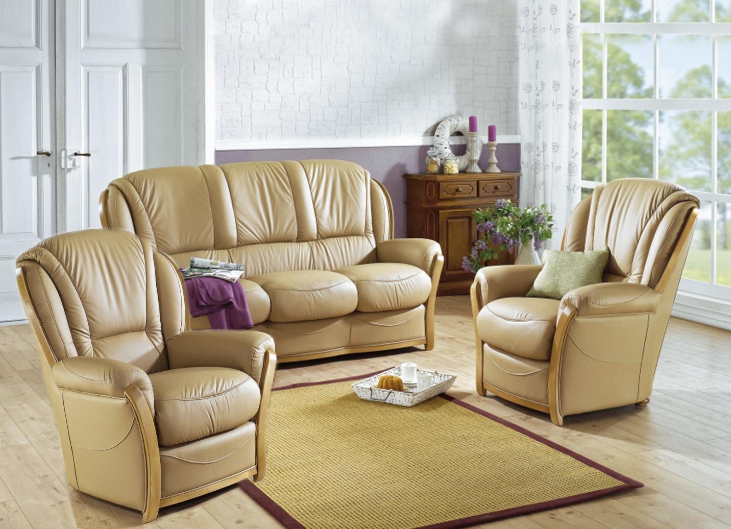 lederm bel in verschiedenen ausf hrungen. Black Bedroom Furniture Sets. Home Design Ideas
