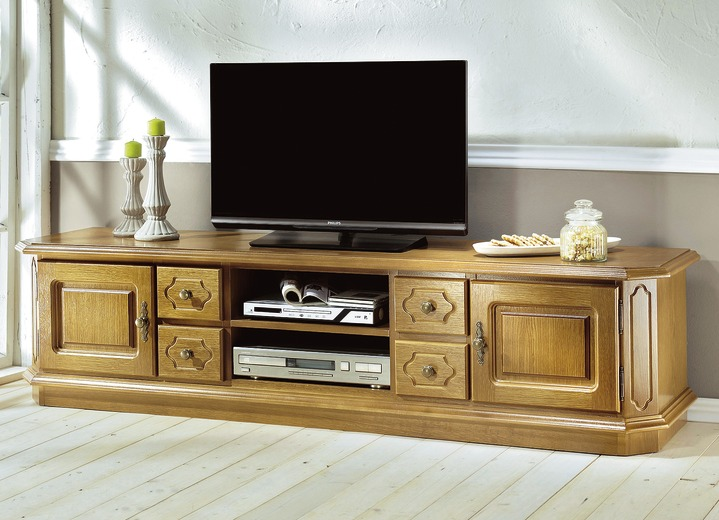 eiche rustikal mobel tv longboard in farbe eiche rustikal