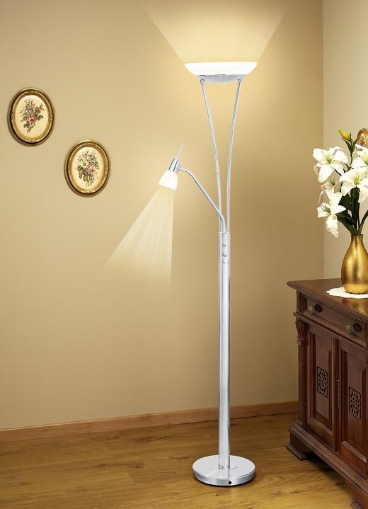 led stehleuchte in verschiedenen farben lampen leuchten bader. Black Bedroom Furniture Sets. Home Design Ideas