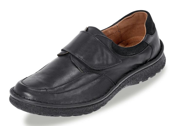 Slipper mit herausnehmbarem Lederfußbett, Extraweite K