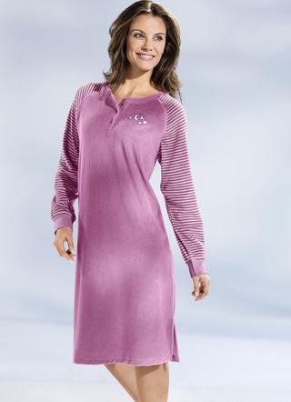 new styles f99f0 8c4c9 Nachthemden Langarm - Nachtwäsche - Damenwäsche - Wäsche   BADER
