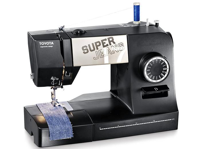 toyota superj17xl jeans freiarm n hmaschine. Black Bedroom Furniture Sets. Home Design Ideas