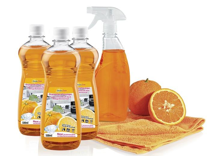 908eb67cc882 Reinigungshelfer   Reinigungsmittel - Universal-Orangenreiniger-Set,  5-teilig, in Farbe