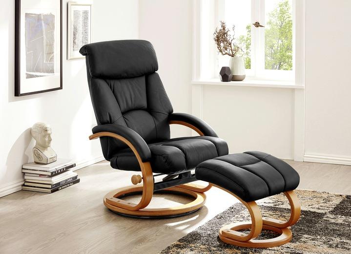 Relax Sessel mit Hocker Polstermöbel