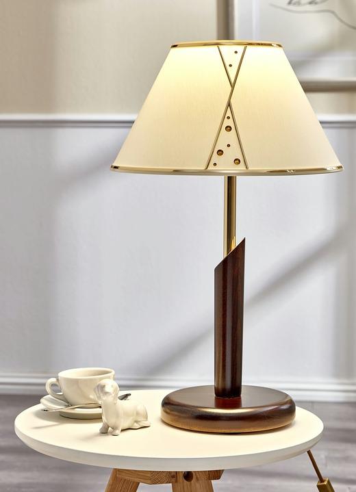 Lampen U0026 Leuchten   Leuchte In Verschiedenen Ausführungen, In Farbe  NUSSBAUM, In Ausführung Tischleuchte