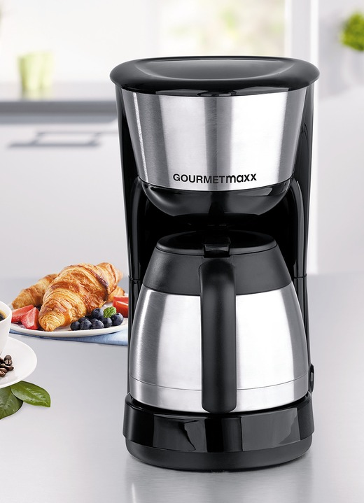 gourmetmaxx thermo kaffeemaschine elektrische. Black Bedroom Furniture Sets. Home Design Ideas