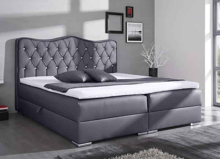 boxspringbett in verschiedenen ausf hrungen betten bader. Black Bedroom Furniture Sets. Home Design Ideas