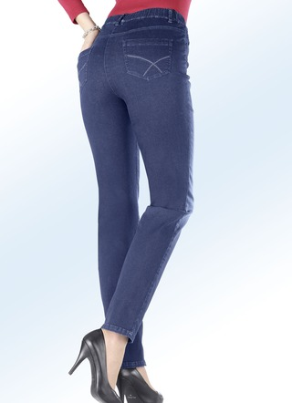 Superbequeme Jeans in 4 Farben