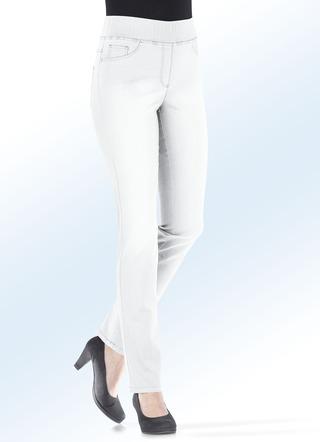 Damen Jeans weiß versandkostenfrei online bestellen