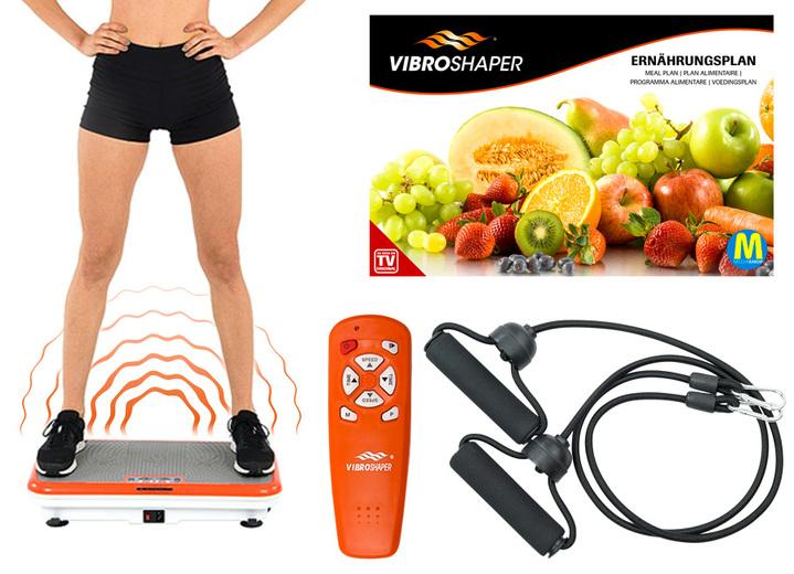 vibro shaper hochwertige vibrationsplatte mit 99 geschwindigkeiten. Black Bedroom Furniture Sets. Home Design Ideas