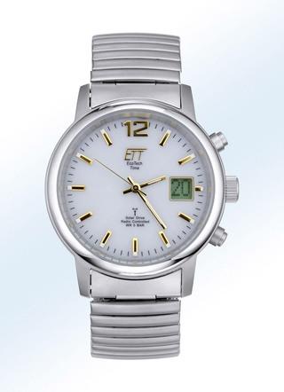 Ett Uhren Für Damen Und Herren Hochwertige Funk Solaruhren