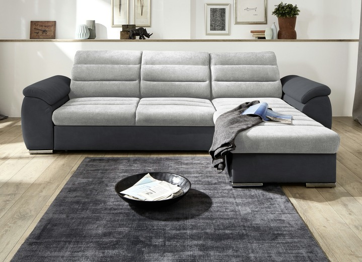 Polsterecke Mit Bettfunktion Und Bettkasten Polstermöbel Bader