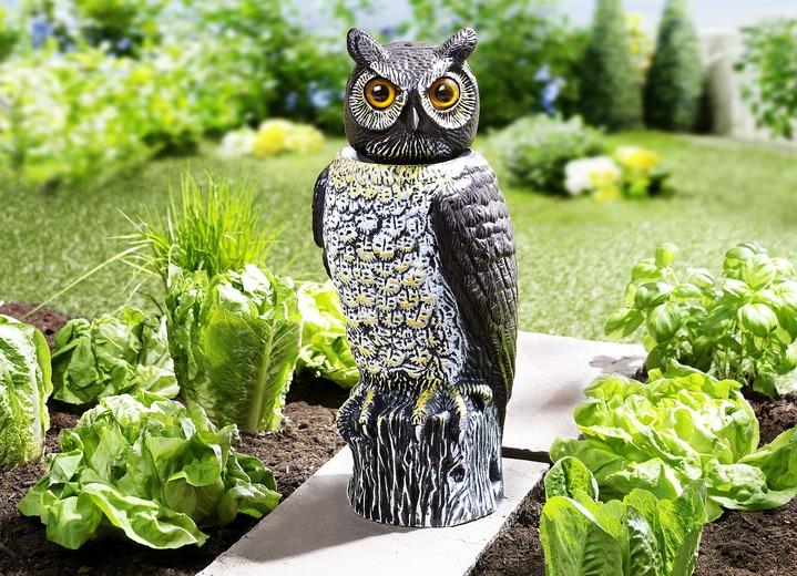 Garteneule Vogelschreck Gartendekoration Bader