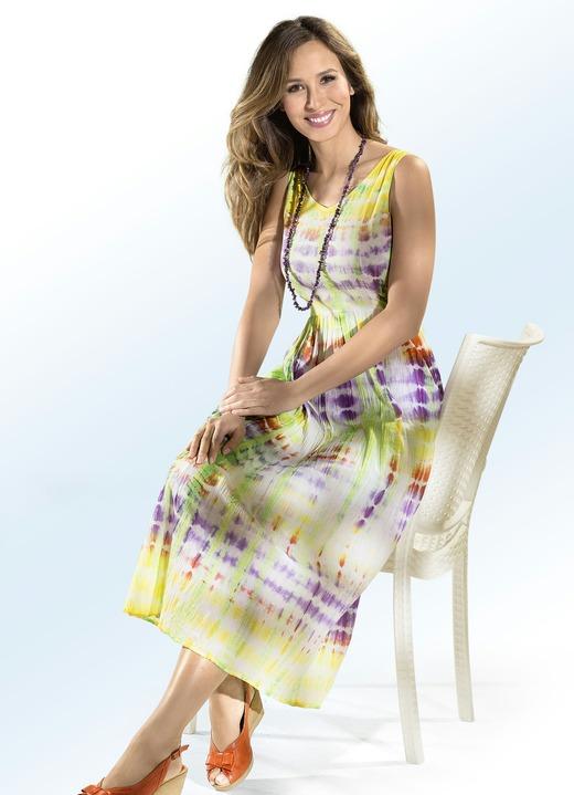 Sommerkleider - Kleid in Batik-Optik, in Größe 036 bis 052, in Farbe 917df4213f