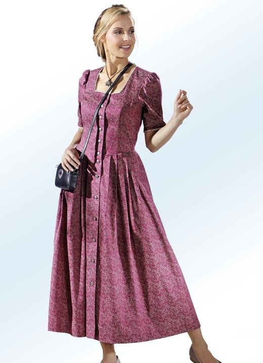 Landhauskleid Mit Karree Ausschnitt