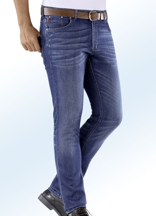 """Francesco Botti""-Jeans mit Jeanssattel in 3 Farben"