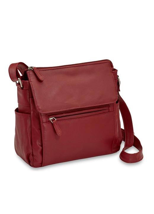 5cbed55de4c4 Taschen - Tasche aus weichem Chevreauleder in 2 Farben, in Farbe SCHWARZ