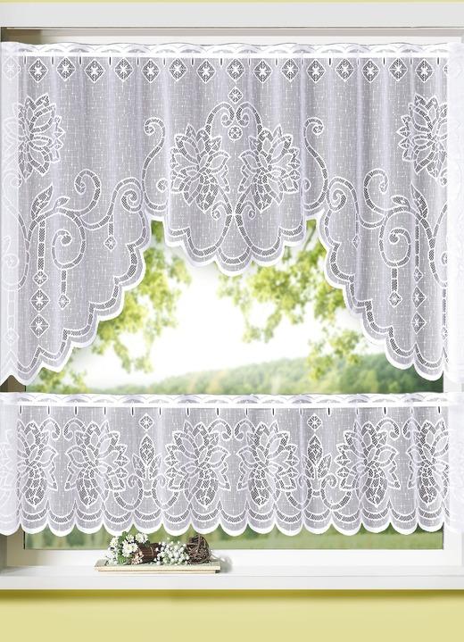 Fensterset mit Stangendurchzug 2-teilig
