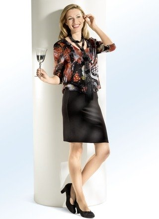 Kleid in toller 2-in-1-Optik