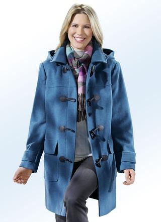 factory price 8784f a7117 Damen Wollmantel blau versandkostenfrei online bestellen