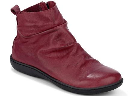 45c10860312943 Mollig warme Stiefelette in 3 Farben mit herausnehmbarer Lederdecksohle