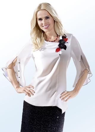 Festliche Bluse weiß versandkostenfrei online bestellen 567261b1ef