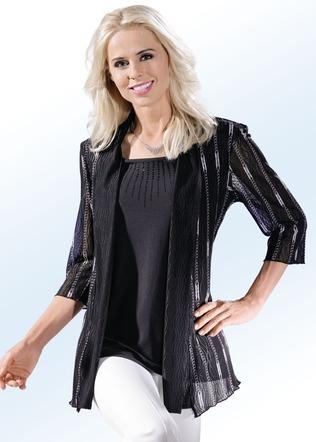 Festliche Bluse schwarz versandkostenfrei online bestellen ff0d9e2e9e