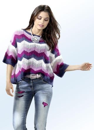 premium selection ef22b 97b4f Pullover Kurzarm für Damen in wundervollen Designs