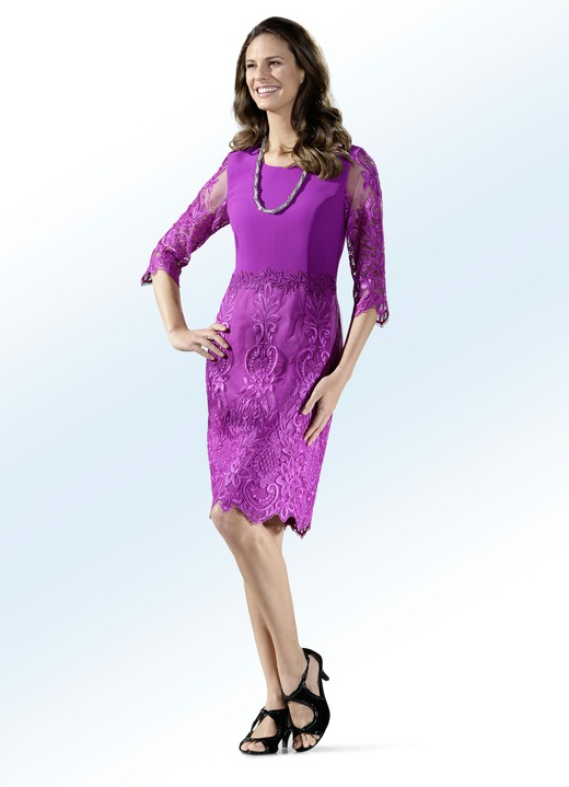 Party-Kleid mit Spitzenbesatz - Kleider | BADER