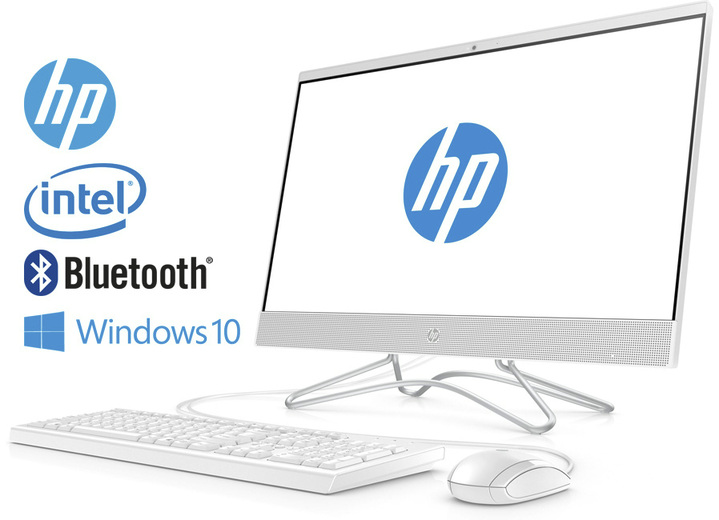 Computer & Elektronik - HP All-in-One PC 24-f05069ng, in Farbe WEISS Ansicht 1