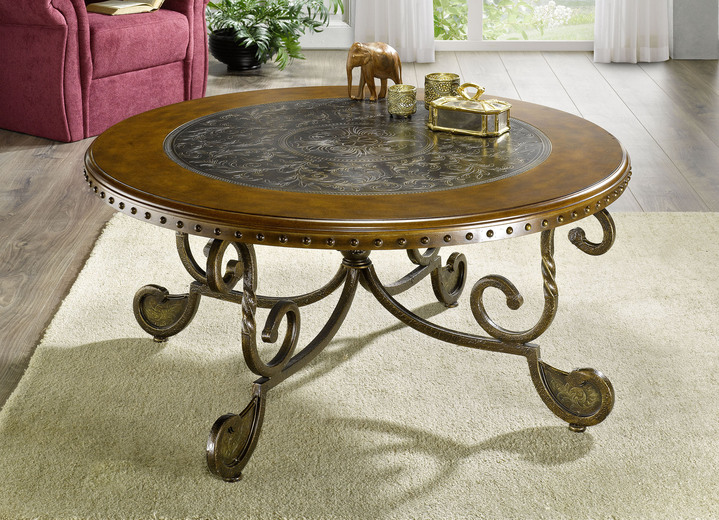 Couchtisch mit Metallgestell - Tische | BADER