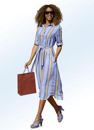 Kombinieren blaues kleid kurz Blaues Kleid