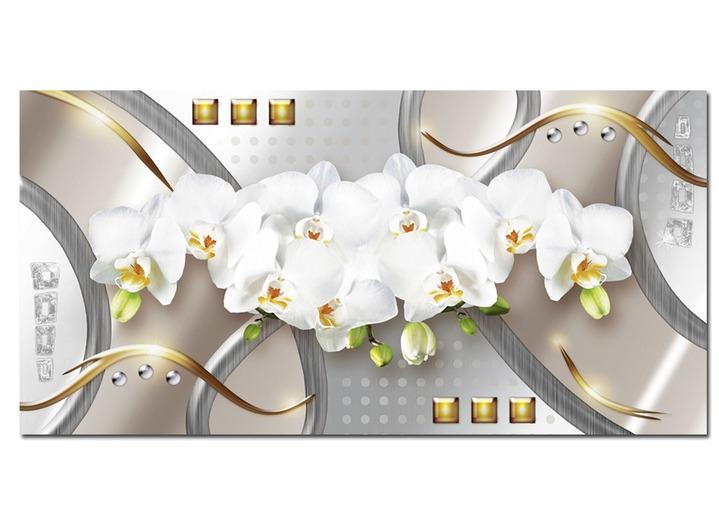 bild wei e orchideen von der k nstlerin jule bilder bader. Black Bedroom Furniture Sets. Home Design Ideas