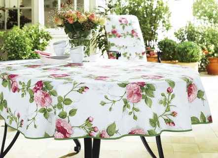Tischdecken Fur Den Gartentisch Dekorativ Und Praktisch Zugleich