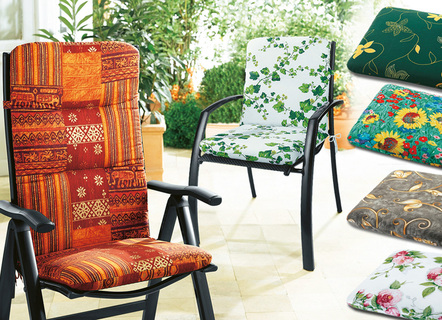 Polster Für Ihre Gartenmöbel Bequeme Sitzkissen In Fröhlichen Farben
