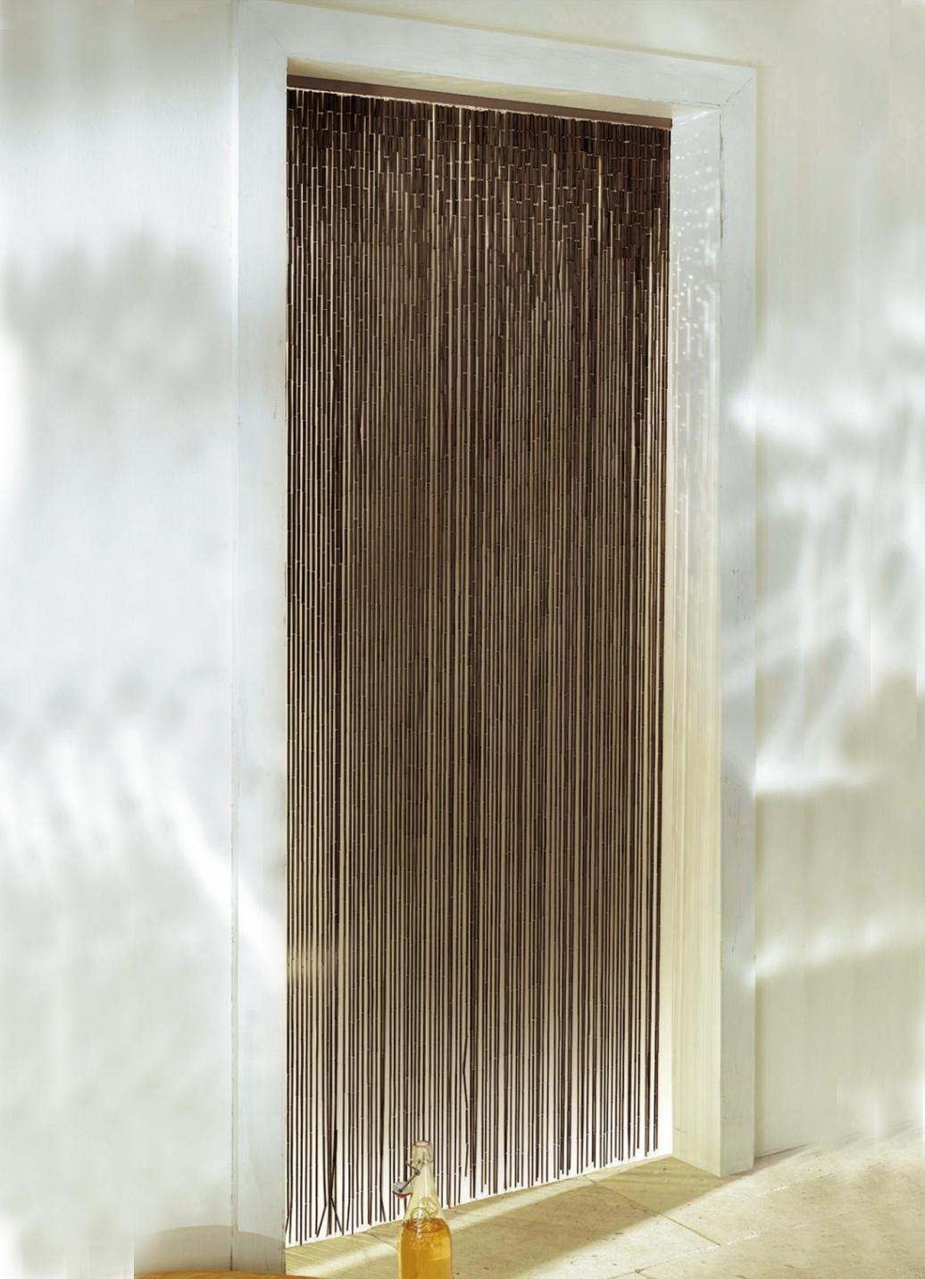 bambus vorhang in 2 farben gardinen bader. Black Bedroom Furniture Sets. Home Design Ideas