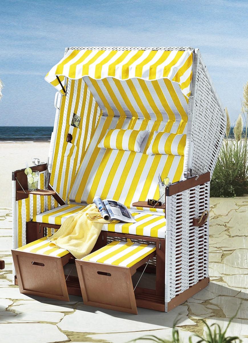 strandkorb nordsee in verschiedenen farben gartenm bel. Black Bedroom Furniture Sets. Home Design Ideas