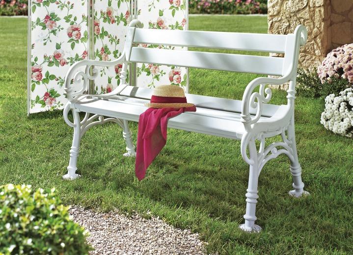 Gartenbank aus Voll-Kunststoff - Gartenmöbel | BADER