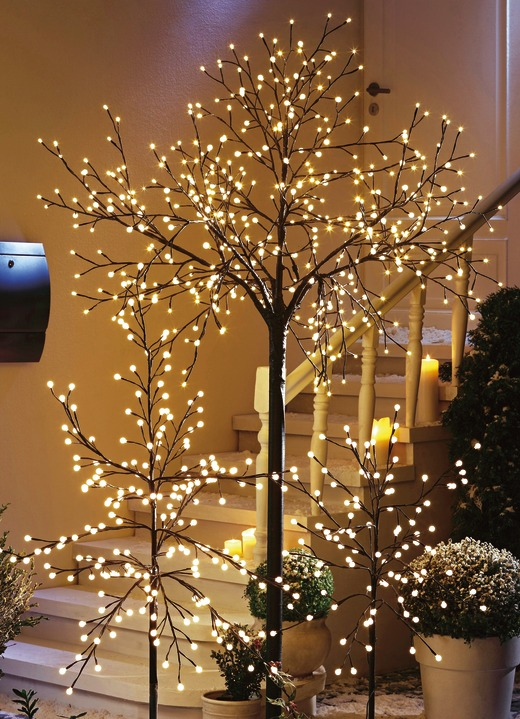 1200 Lumen 18 W LED-Baum Lichtbaum H/öhe 250 cm Terrasse Advent Weihnachten Kirschbl/ütenbaum Garten-Beleuchtung Leuchtbaum kaltweiss LED-Dekobaum wei/ß Aussen IP44 Outdoor-LED-Baum 600 LED