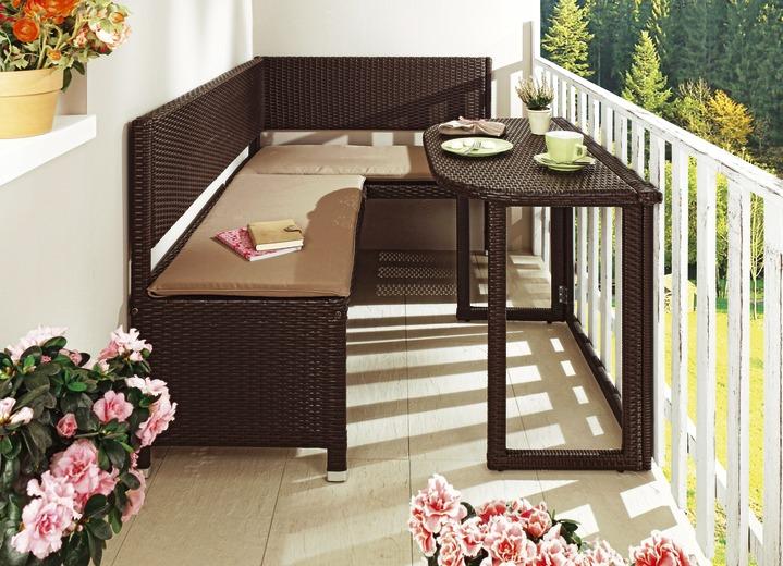 Balkonmöbel  Balkonmöbel-Serie verschiedene Ausführungen - Gartenmöbel | BADER